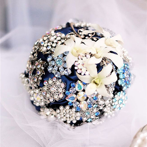 Brooch Bouquet for wedding サンプル2