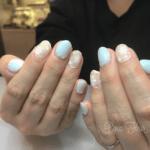2月キャンペーン☆雪の結晶ネイルのご紹介♪